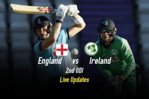 England vs Ireland 2rd ODI Live