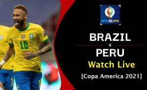 brazil vs peru copa america
